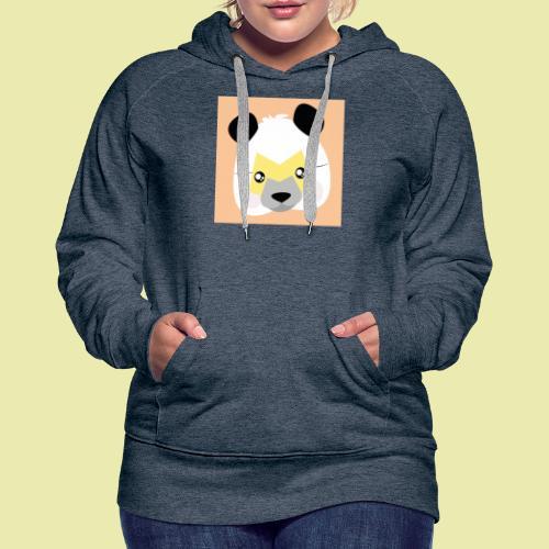 Amazing Super Panda with M mask! - Premium hettegenser for kvinner
