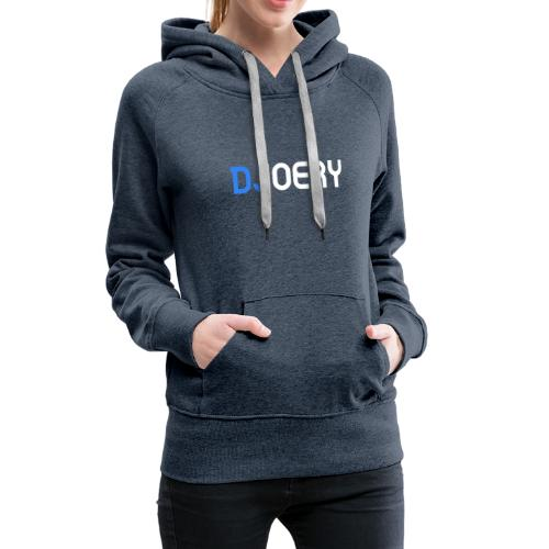 logo transparantbg whitetext noslogan - Vrouwen Premium hoodie