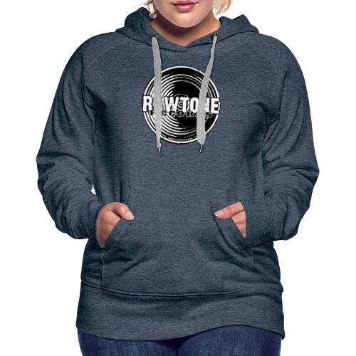 Rawtone Records - full logo - Women's Premium Hoodie
