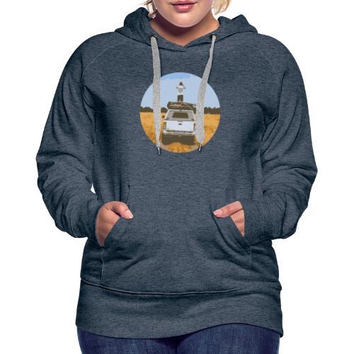 Off road - Vrouwen Premium hoodie