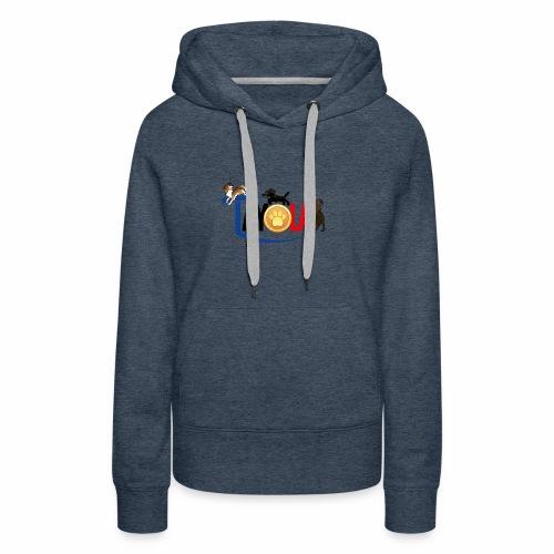 TAYOLA logo 2019 HD - Sweat-shirt à capuche Premium pour femmes