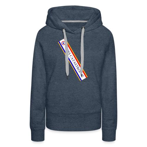 Miss Catastrophe - Sweat-shirt à capuche Premium pour femmes