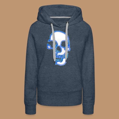 Skull 5 - Frauen Premium Hoodie