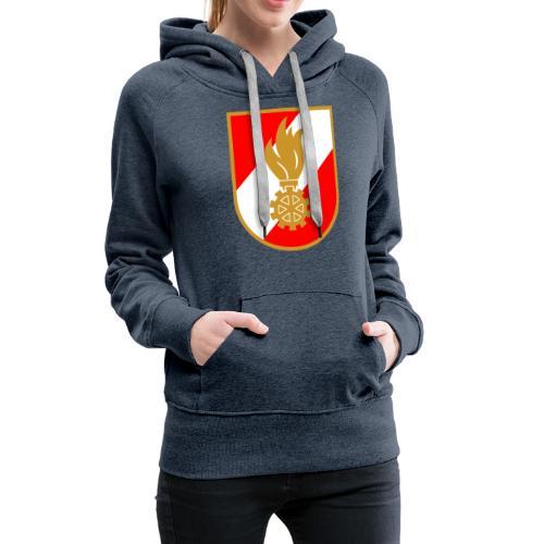 feuerwehrwappen 01 - Frauen Premium Hoodie