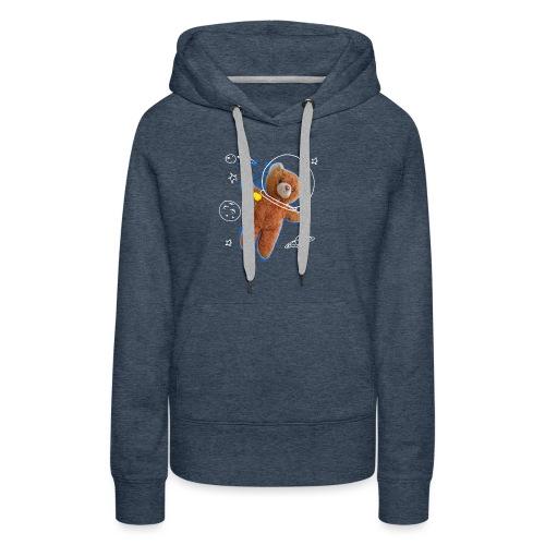 T-shirt niño OSITO ASTRONAUTA - Sudadera con capucha premium para mujer