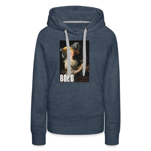 Marie Antoinette en mode bobo - Sweat-shirt à capuche Premium pour femmes