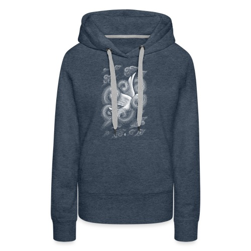 Crossing Clouds - Women's Premium Hoodie
