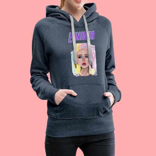 Princesse Lynioka - Sweat-shirt à capuche Premium pour femmes