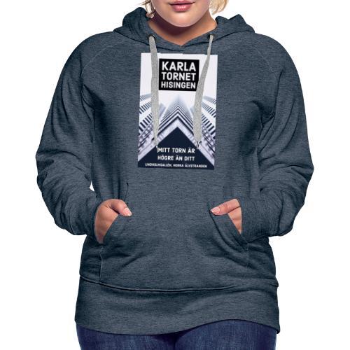 Karlatornet - Premiumluvtröja dam
