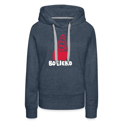 Boeiend - Vrouwen Premium hoodie