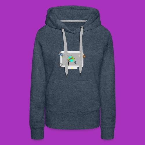 Ordinateur sous influence de Planète GEEK - Sweat-shirt à capuche Premium pour femmes