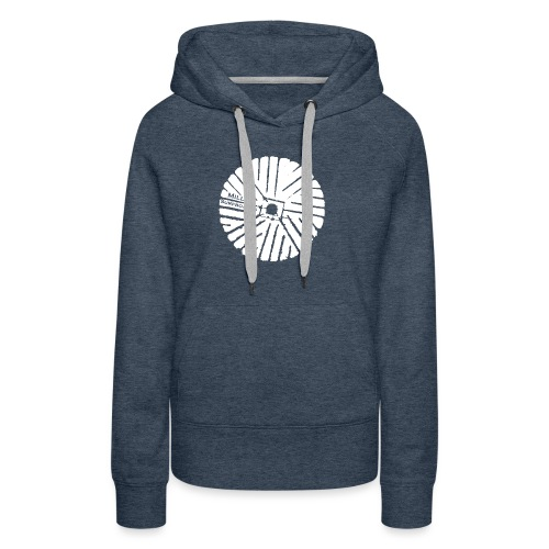 White chest logo sweat - Women's Premium Hoodie