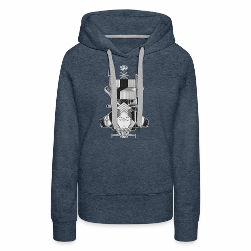 KEEP IT REAL - Women's Premium Hoodie