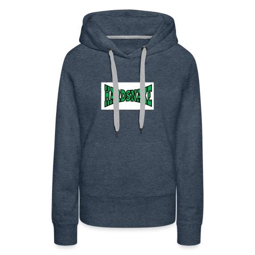 Hardsnake - Sweat-shirt à capuche Premium pour femmes