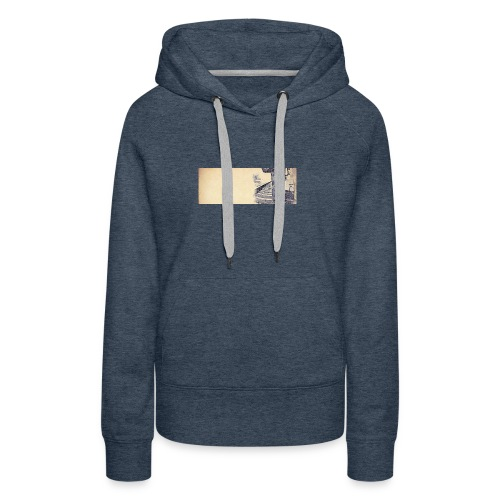 solo.pigion - Sweat-shirt à capuche Premium pour femmes