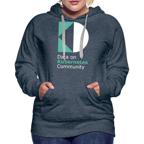 logoDockOK - Sudadera con capucha premium para mujer