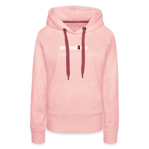 Airbrush - Frauen Premium Hoodie