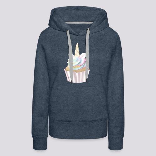 Unicorn Cupcake - Women's Premium Hoodie