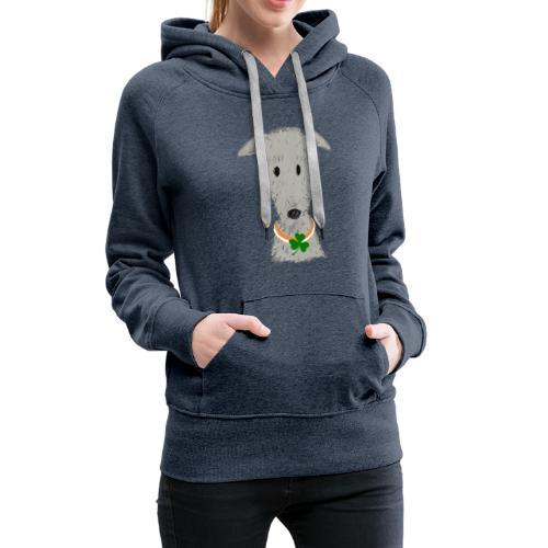 Irish Wolfhound - Frauen Premium Hoodie