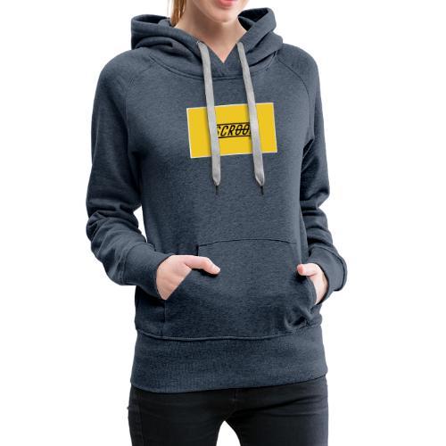 Scrool - Sweat-shirt à capuche Premium pour femmes