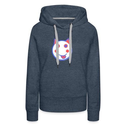 Red White And Blue - Alf Da Cat - Women's Premium Hoodie