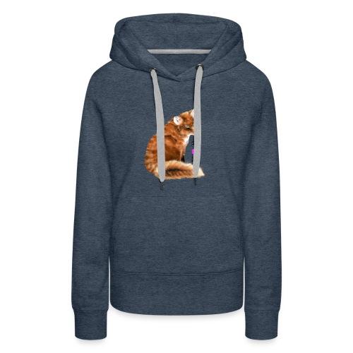 foxy 1 - Bluza damska Premium z kapturem
