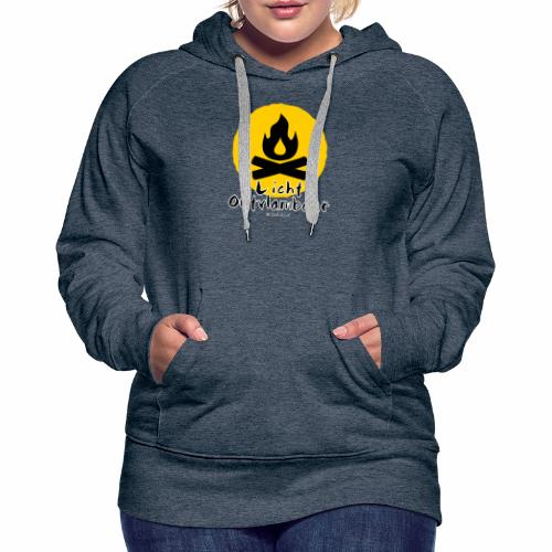 Licht ontvlambaar - Vrouwen Premium hoodie