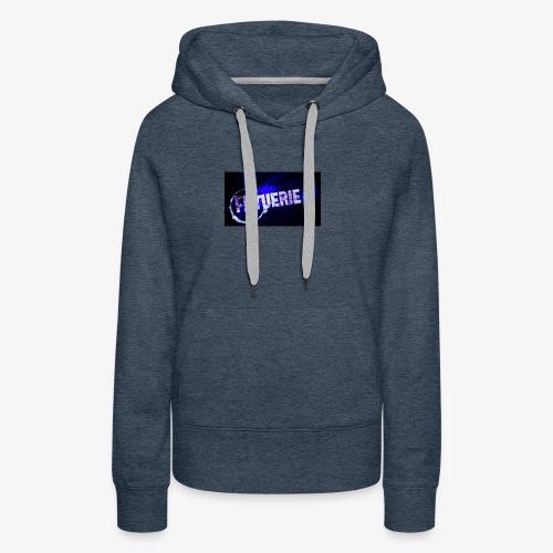 logo de mon blaze - Sweat-shirt à capuche Premium pour femmes