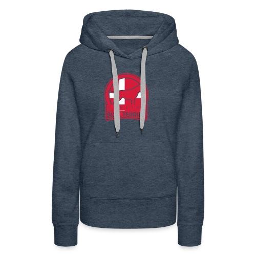 BULL TERRIER Denmark DANSK - Frauen Premium Hoodie