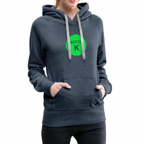 MOTORK - Sudadera con capucha premium para mujer