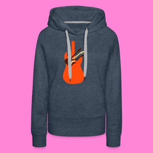 Guitar guitar - Vrouwen Premium hoodie