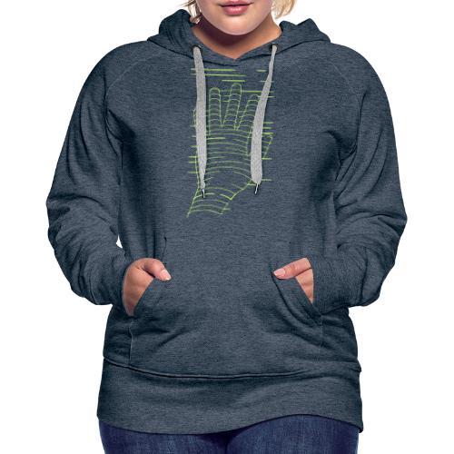 EigenHand gruen - Frauen Premium Hoodie