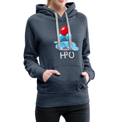 h2o - Sweat-shirt à capuche Premium pour femmes
