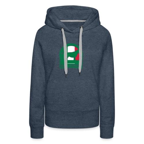 BULL TERRIER Italy ITALIA - Frauen Premium Hoodie