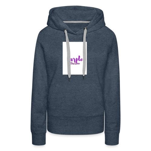 Purple Nation - Premium hettegenser for kvinner