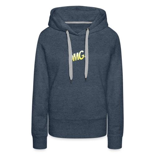 omg - Sweat-shirt à capuche Premium pour femmes