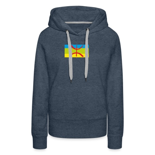 drapeau berbere tamazgha - Sweat-shirt à capuche Premium pour femmes