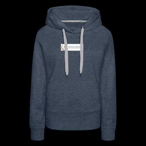Agences-Spatiales - Sweat-shirt à capuche Premium pour femmes