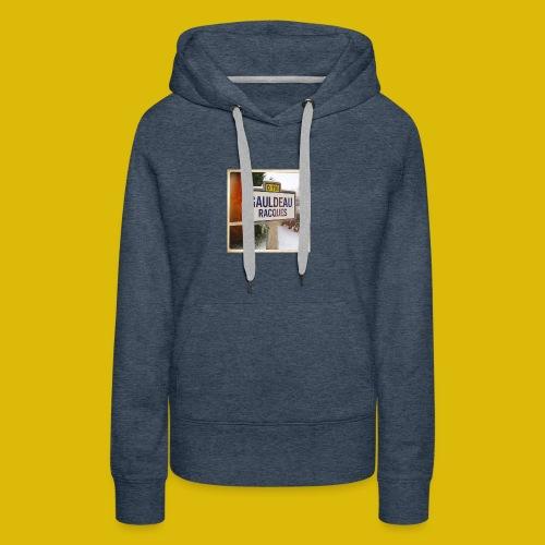 Gogoldorak - Sweat-shirt à capuche Premium pour femmes