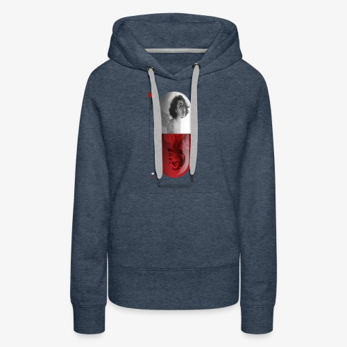 capsula - Sudadera con capucha premium para mujer