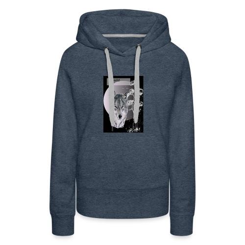 Re wild britain tee shirt - Women's Premium Hoodie