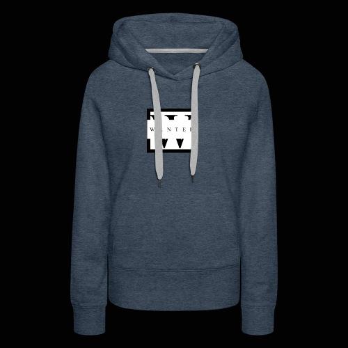 wanted JPEG - Sweat-shirt à capuche Premium pour femmes