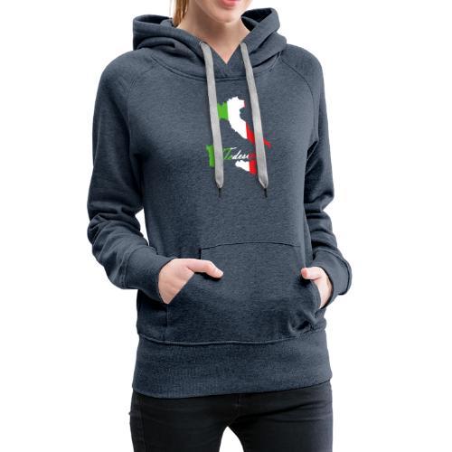 Tedeschi italie - Sweat-shirt à capuche Premium pour femmes