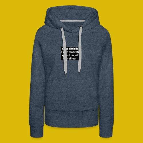 PAR FEE - Sweat-shirt à capuche Premium pour femmes