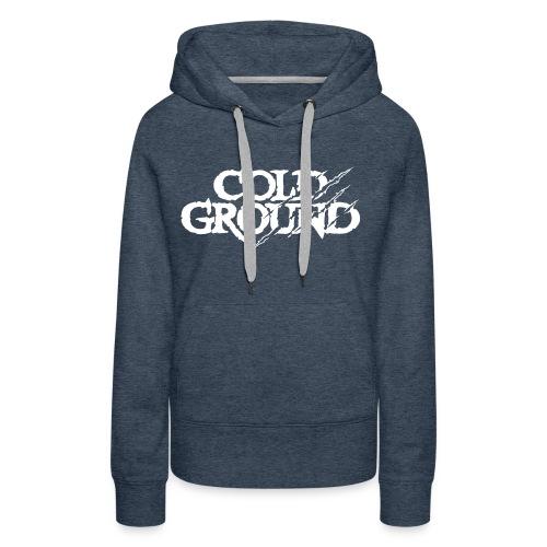 Cold Ground - Sweat-shirt à capuche Premium pour femmes