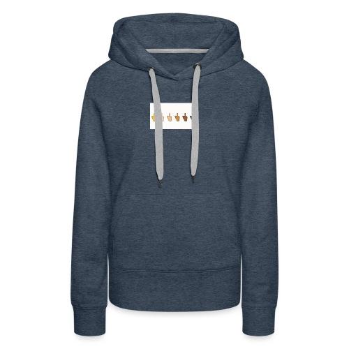 nature - Sweat-shirt à capuche Premium pour femmes
