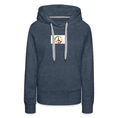 peace mok - Vrouwen Premium hoodie