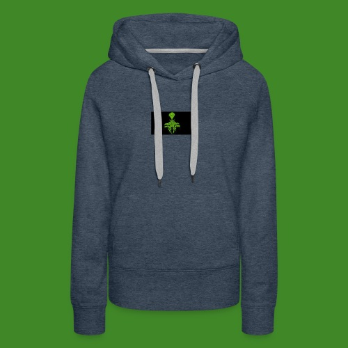 Green spiderman - Women's Premium Hoodie