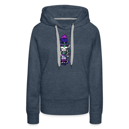 Totem Emadali - Sweat-shirt à capuche Premium pour femmes