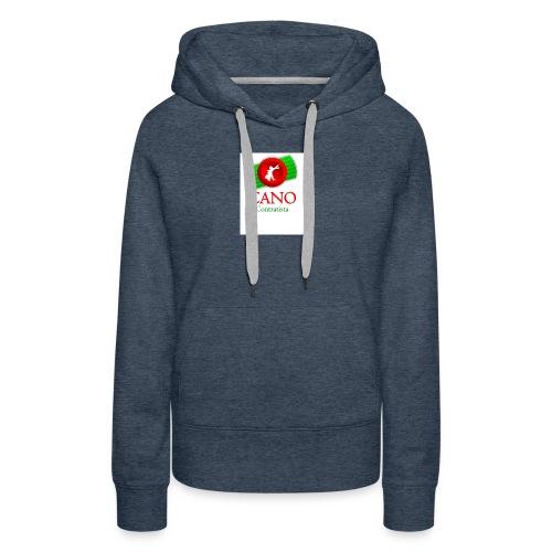 logo_cano - Sudadera con capucha premium para mujer
